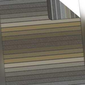 Ibena Wohndecke Jacquard Decke BELMONT anthrazit-grün 150 x 200 cm