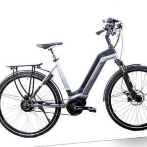 28 Zoll Fahrrad TechniBike E Bike Riemen N330 Nu Vinci Conti Mittelmotor Gr.S