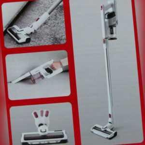 2-in-1 Akku Handsauger Stielsauger Hand-Staubsauger High-Speed-Motorbürste + LED
