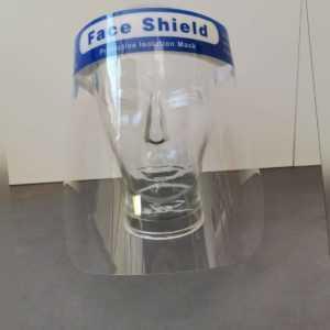 100x Face Shield Gesichtsschutz Faceshield Mundschutz Augenschutz Gesichtsvisier