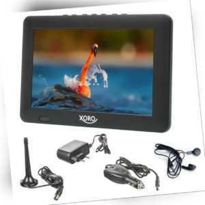Camping TV DVB-T2 Fernseher Xoro PTL 900 mit USB Mediaplayer 9 Zoll 22.8cm