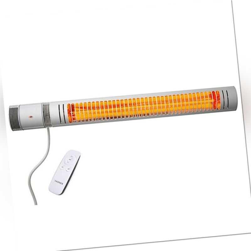 Vasner SlimLine X20 Infrarot-Heizstrahler Indoor Outdoor Terassenstrahler 2.Wahl