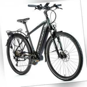 28 Zoll Trekking E Bike Leader Fox LUCAS Elektro Fahrrad Mittelmotor 630Wh RH52