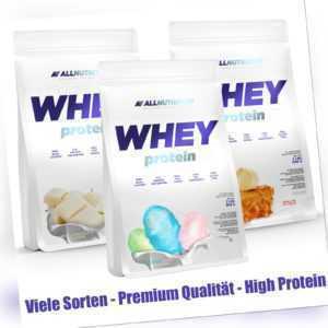 Allnutrition Whey Protein 908g Eiweiß Eiweiss Pulver zum Muskelaufbau & Abnehmen
