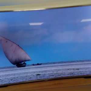 Samsung UE55JS9090 138 cm (55 Zoll) Curved 4K  Reparaturbedürftig