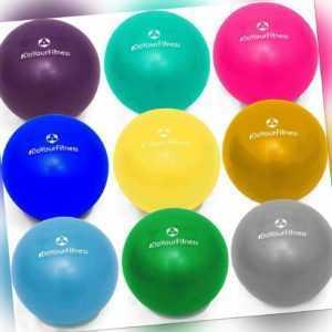18 23 28 33cm Overball Yoga Pilates Gymnastik Fitness Therapieball Ball Sport