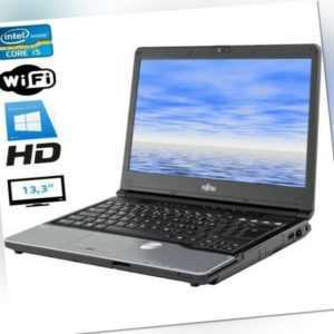 Fujitsu S762 i5-3320M 4GB 320GB HDD DVD HD 13,3' Windows 7/10 PRO