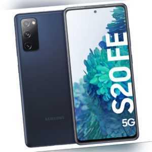 Samsung G781B Galaxy S20, FE, 5G, 128GB, 6GB RAM, Blue,IP68...