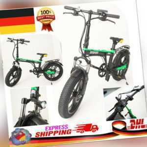 Elektrofahrrad E-Bike 30km/h 36V 250W Mountainbike  Klappfahrrad Citybike DHL u