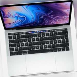 Apple MacBook Pro 13.3 silber, Core i5-8257U, 8GB RAM, 128GB SSD MUHQ2 - HÄNDLER