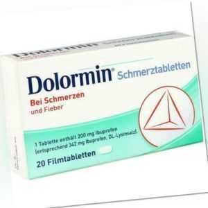DOLORMIN Filmtabletten 20 St 04590211