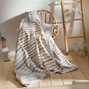 Bugatti Wohndecke Baumwollmischung