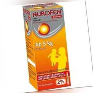 NUROFEN Junior Fiebersaft Erdbeer 2% 100ml PZN 1170187