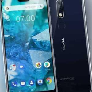 Nokia 7.1 Single SIM 32GB Blue # AU
