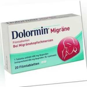 DOLORMIN Migräne Filmtabletten 20 St 01300827
