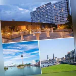Düsseldorf exklusiv im HILTON Hotel Kurztrip für 2 Personen mit Düsseldorf-Card