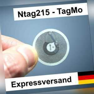 1-25 Stk: Ntag215 Sticker (wie Amiibo) 540 Byte NFC Tag Tagmo Tags - Android iOS