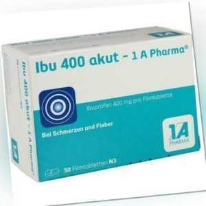 IBU 400 akut-1A Pharma Filmtabletten 50 St 03045316