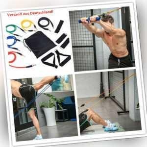 Fitnessband Expander 11in1 Gymnastikband Widerstandsbänder Yoga Latex Versand DE