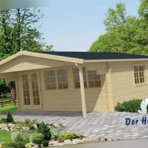 70 mm Gartenhaus 595x795cm Blockhaus Gerätehaus Holzhaus Holz Schuppen