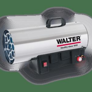 WALTER Gasheizkanone XXL Edelstahl 1000°C  max. 34,0 kW regelbar!