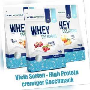 Allnutrition Whey Protein 700g Eiweiß Eiweiss Pulver zum Muskelaufbau & Abnehmen