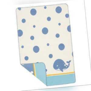 Richter Textilien Baby Kuscheldecke/Wolldecke reine Bio-Baumwolle