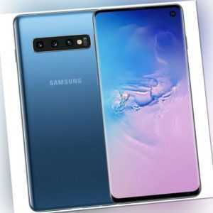Samsung Galaxy S10 128GB Smartphone prism blue, Android Smartphone