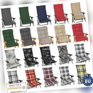 Hochlehner Auflagen Sitzauflagen Gartenstuhl Sitzkissen Polster Kissen Sessel