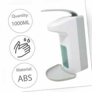 Seifenspender Wand Desinfektionsmittel Spender 1000 ml Edelstahl Wandmontage