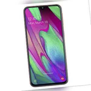 Samsung Galaxy A40 64GB Corall Smartphone (SM-A405FZODDBT, Dual...