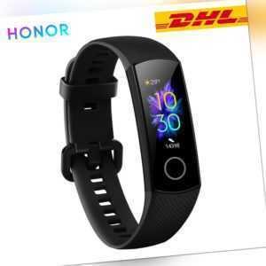 Huawei HONOR Band 5 Armband Fitness Track AMOLED Waterproof SpO2 Monitor Schwarz