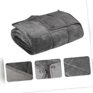Gewichtsdecke Weighted Blanket Sensory Therapie Baumwolle Decke
