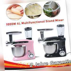 3-in-1 Electric Küchenmaschine Mit Kochfunktion Multi 4L Mixer Rührer SC-232C DE