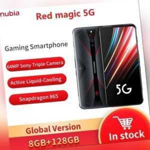 NEU Nubia Red Magic 5G Ohne Vertrag Gaming Smartphone 128GB 8GB...