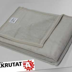 2x Biederlack Wolldecke grau Decke Wohndecke 150x200 Kuscheldecke
