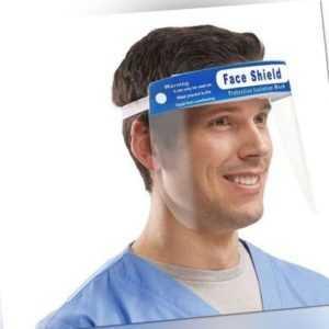 MedMaXX Face Shield Premium Gesichtsschutz Gesichtsvisier Face Mask Visier 2x