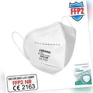 20x FFP2 Maske Mundschutz Masken Atemschutz 5-lagig Mundmaske Atemschutzmaske