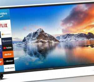 DYON Smart 43 XT LED TV Fernseher (43 Zoll (108 cm), Full HD, Smart TV, EEK: A+)