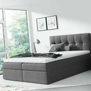 Boxspringbett Sydney Doppelbett Schlafzimmer Farbauswahl Bettkasten Polsterbett