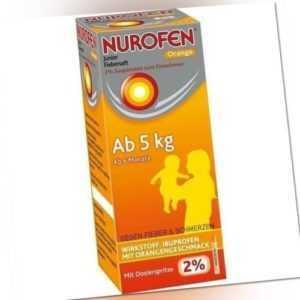 NUROFEN Junior Fiebersaft Orange 2% 100 ml PZN 6789419