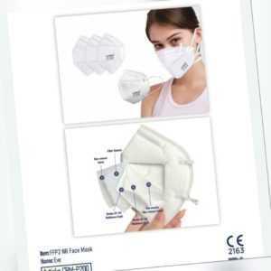 FFP2-Masken CE Zertifiziert, in Deutschland produziert!! Mundschutz FFP2