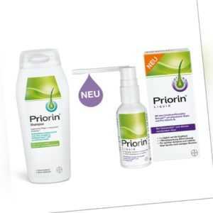 Priorin Liquid Pumplösung 50ml plus Priorin Shampoo 200ml bei Haarausfall