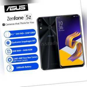 """ASUS ZenFone 5Z ZS620KL 4G 6GB+64GB 6.2"""" Kerbe Bildschirm..."""