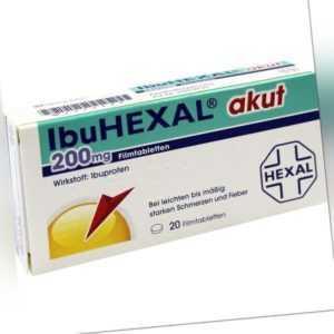IBUHEXAL akut 200 Filmtabl.   20 st   PZN2222472
