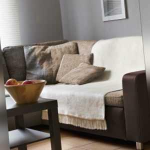 Biederlack Kuscheldecke 100x200 Fransen Cover Cotton natur