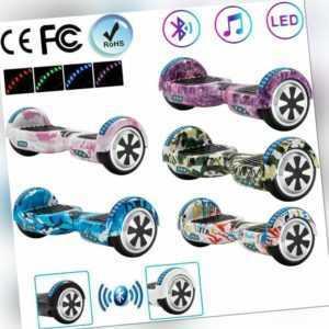 Hoverboard 6,5 Zoll Elektro Scooter Bluetooth Selbst Balance Board ElektroRoller