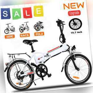 """KLAPP Citybike 26""""/20"""" Elektrofahrrad E-BIKE Pedelec Stadtfahrrad mit 250W Motor"""