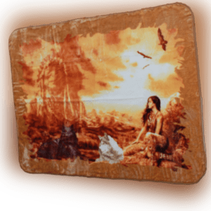 YSN Home Collection 1703 - Wolldecke Decke Kuscheldecke Tagesdecke