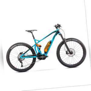 27.5 Zoll MTB E-Bike 10 Gang Shimano Deore Mittelmotor E8000 Fully Dämpfer